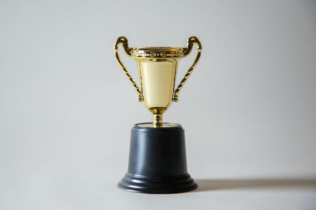 Platinum Innovation Awards Trophy