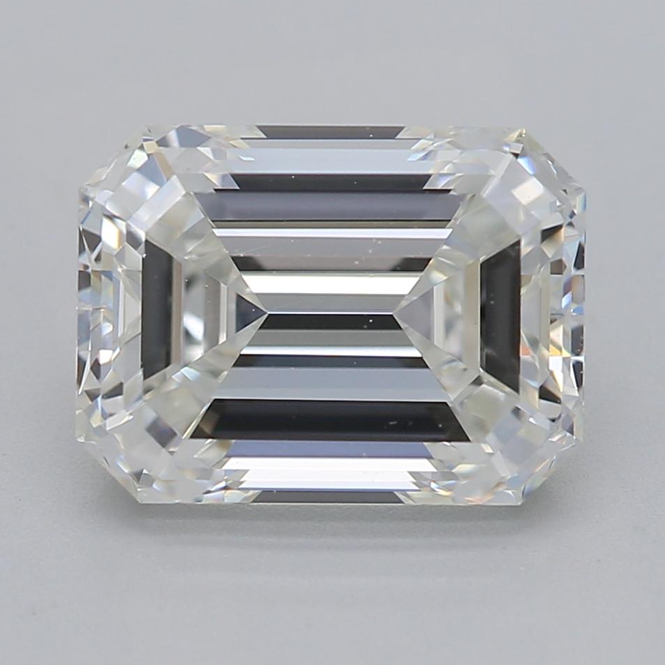 Emerald cut diamond 2.01 G VS2