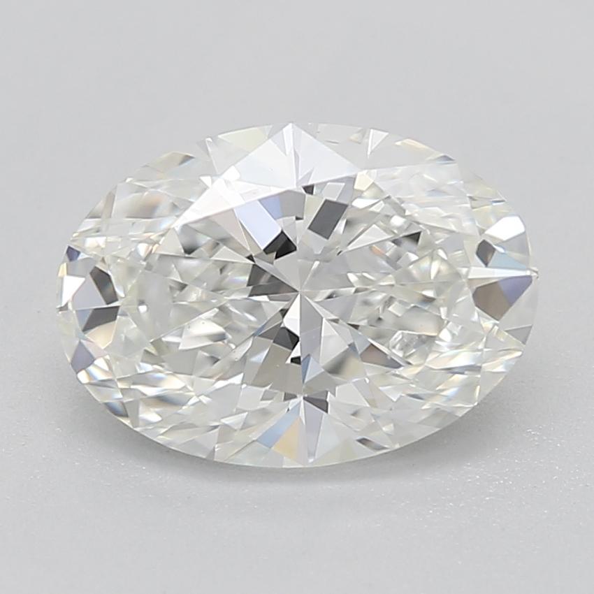 Oval cut diamond 1.01 I VS1