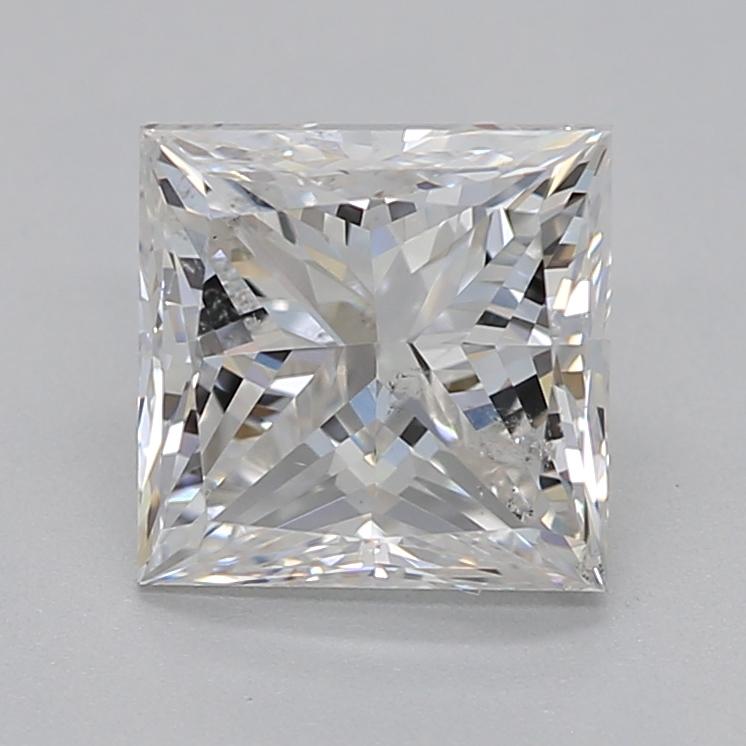 Princess cut diamond 1.01 carat G SI2