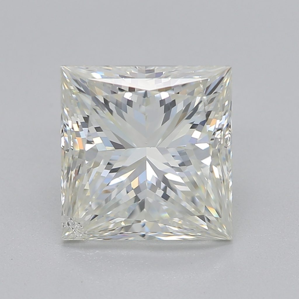 princess cut diamond 1.05 ratio
