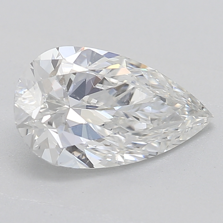 Pear shaped diamond 0.75 F SI2