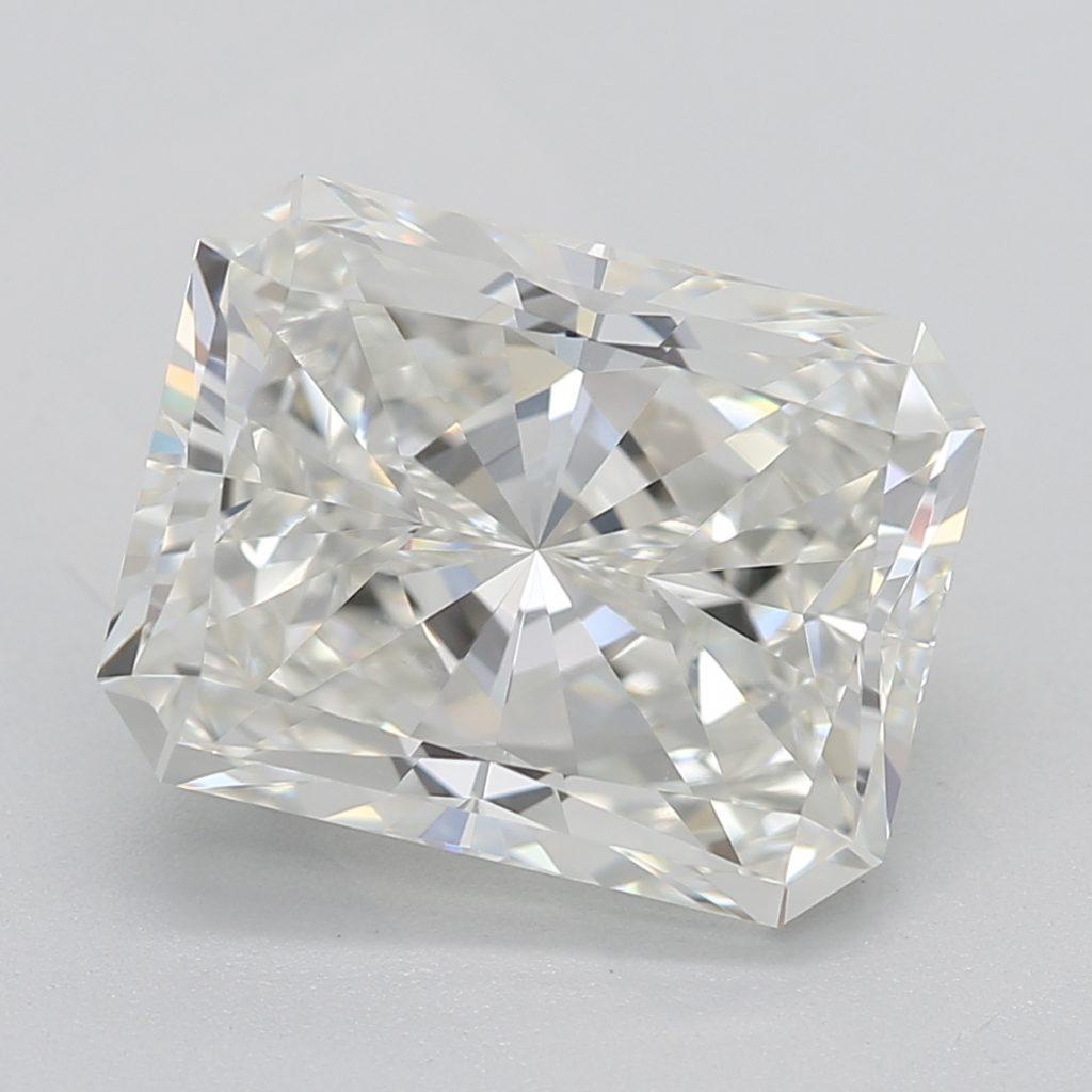 Radiant cut diamond I VS1 1.00carat RECTENGULAR