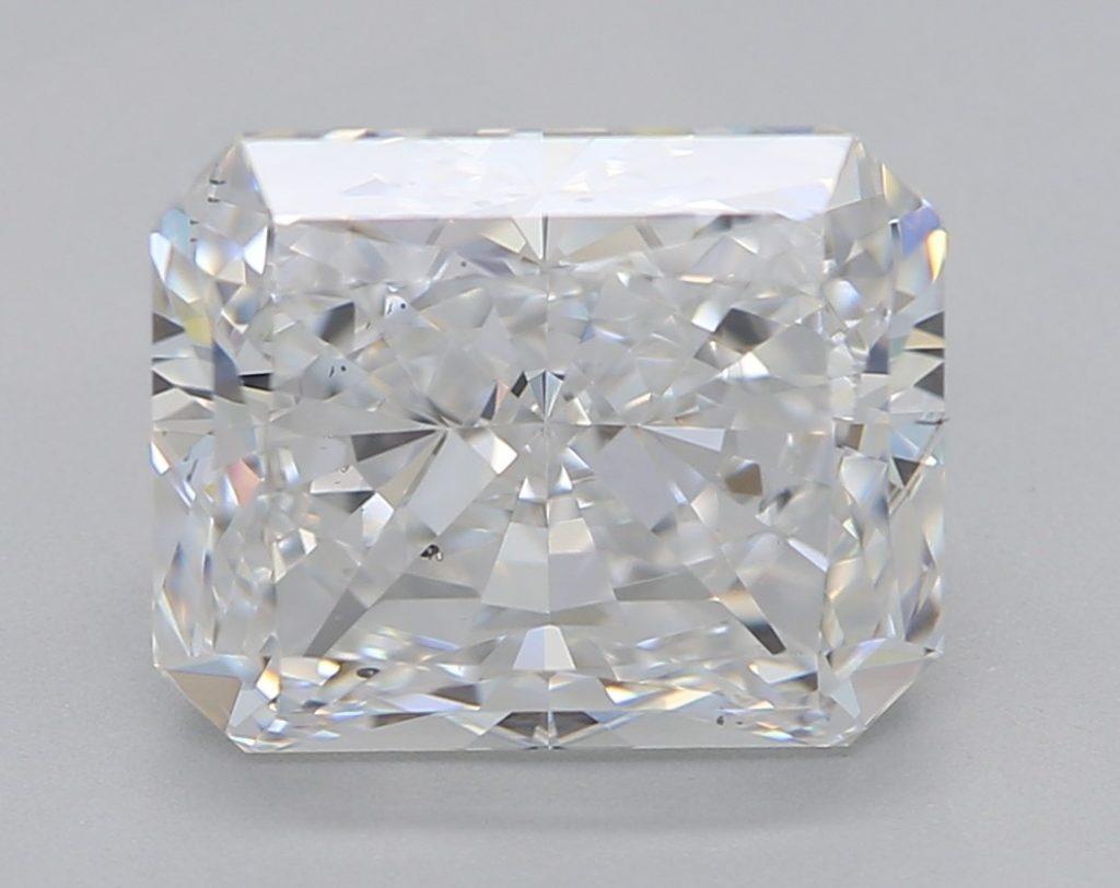 Radiant cut diamond - SQUARE