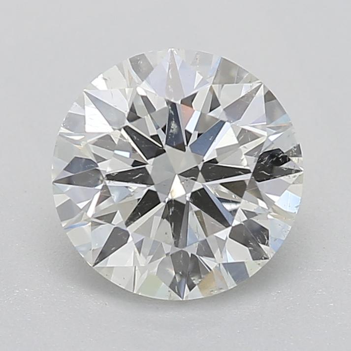 Round cut diamond 0.72 J SI2