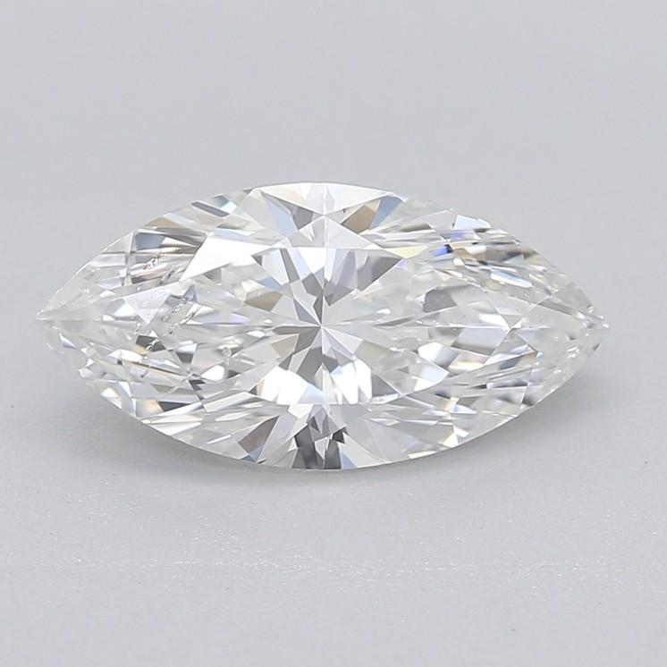Marquise cut diamond G SI1 1.08Ccarat