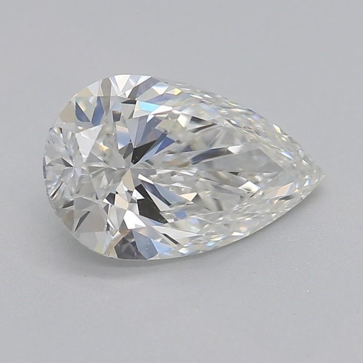 Pear shaped diamond g vs2 1.00carat