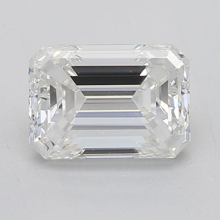 emerald cut diamond H SI1 1.01carat