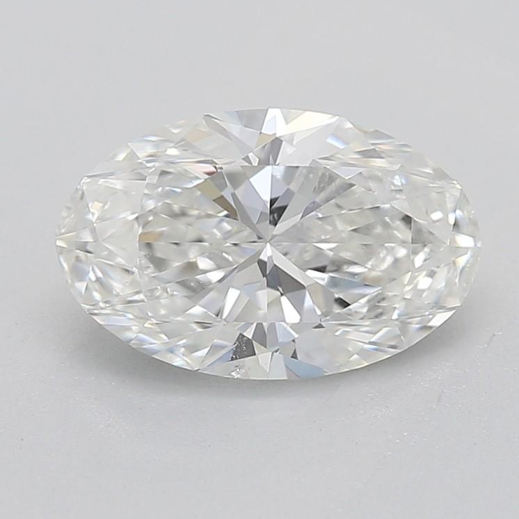Oval cut diamond H SI1 1.00 carat