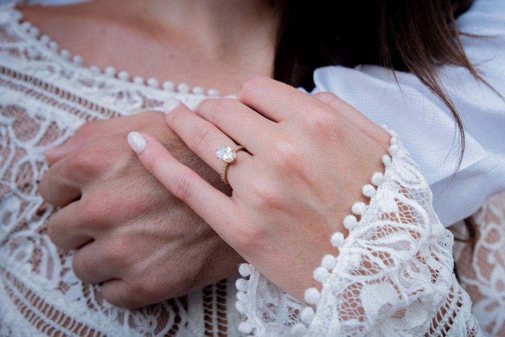 pave oval diamond ring - the Micro Pavé Setting