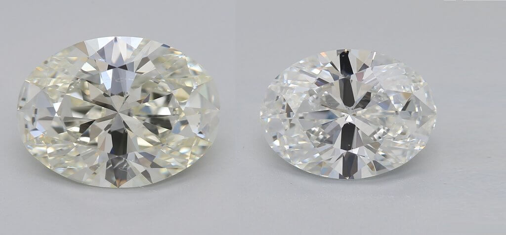 K color diamond VS. f color diamond - Everything You Need to Know About K Color Diamonds