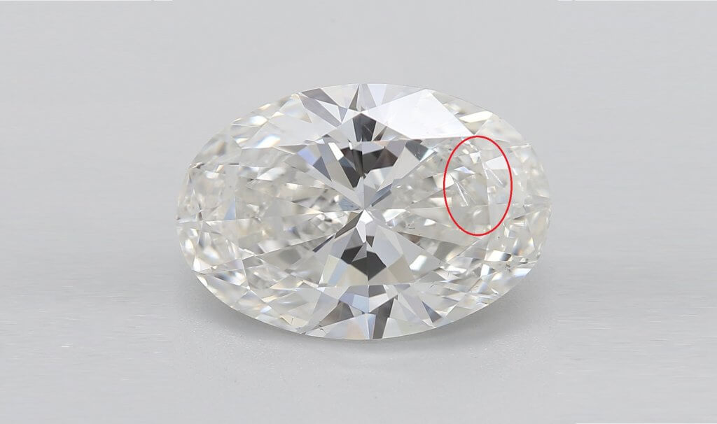 Oval 3 carat with feather inclusion - What are Diamond Feathers