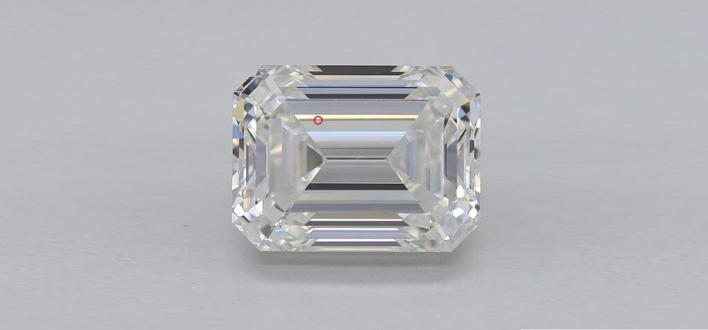emerald vvs1 small inclusion - VVS1 Diamonds