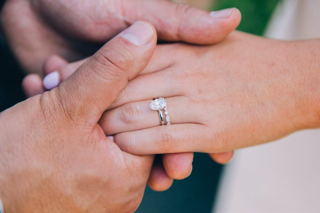 2 carat oval diamond engagement ring -Diamond Carat Size